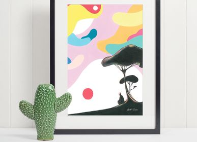 Poster - Art Prints - Travel & Places Collection #2 - ILLUSTATION.IT