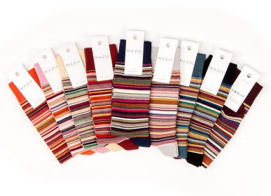 Socks - Striped socks for women - MIA ZIA