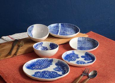 Assiettes au quotidien - Lamunlamai Set de table à pinchware - LAMUNLAMAI. CRAFTSTUDIO