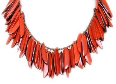 Bijoux - Collier Flamme - TAGUA AND CO