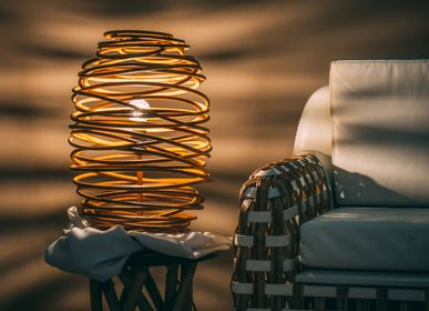 Table lamps - Gio Hoop Table Lamp  - FINALI FURNITURE