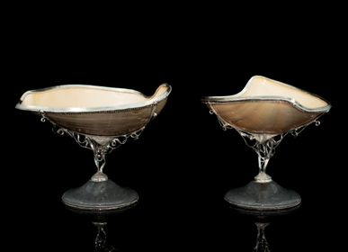 Decorative objects - Duet Silver Caviar Servers - ORMAS GROUP