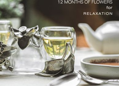 Silverware - 12 Months Flower - tea glass - 5IVE SIS