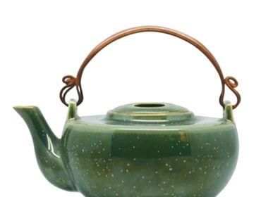 Ceramic - Jade Green Teapots - ZAOZAM