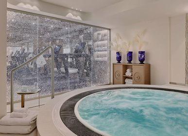 Shower stalls - BULLES & ARGENT RÉF. E – 032 - DACRYL