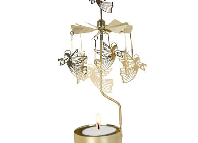 Objets de décoration - ROTARY CANDLE HOLDER FLYING ANGEL - PLUTO PRODUKTER