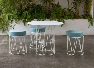 Deck chairs - LAGARTO stool - ISIMAR