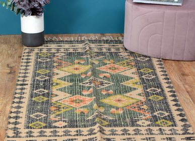Design - decorative wool jute rugs - NATURAL FIBRES