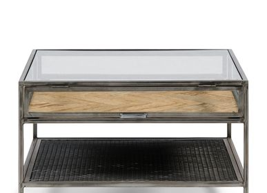 Tables basses - Chloe Coffee Table 70x70 - RIVIÈRA MAISON