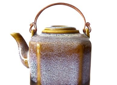"Ceramic - Teapots, Bowls & Mugs ""Pastel Collection"" - ZAOZAM"