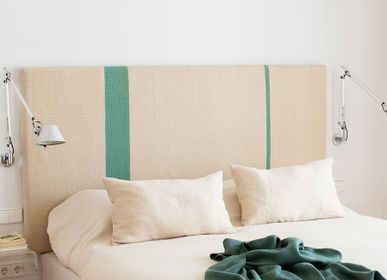 Fabrics - Headboard, woven with linen and Spanish wool - ÁBBATTE