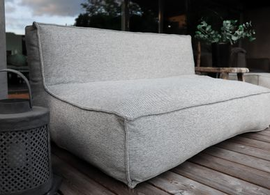 Lawn sofas   - Lounge Sofa - C2 Collection - TROIS POMMES HOME - OUTDOOR LOUNGE FURNITURE
