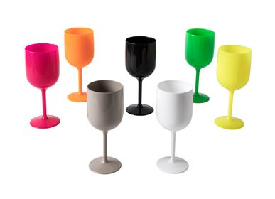 Glass - CALICE (WINE GLASS) 100% MADE IN ITALY - MOJITO DESIGN