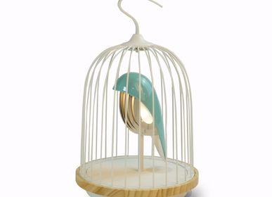 Lampe sans fil - DAQICONCEPT JINGOO - L'oiseau Bleu - DAQICONCEPT