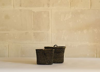 Storage - Iringa Wall baskets, Black, Tanzania - AS'ART A SENSE OF CRAFTS
