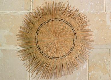 Autres décorations murales - Sun Circles, Naturel, Malawi - AS'ART A SENSE OF CRAFTS
