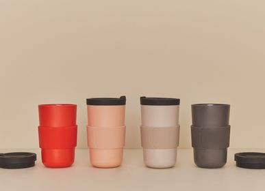 Mugs - Bamboo & Silicon Take Away Mug - EKOBO
