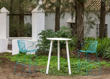 Lawn chairs - BOLONIA Stool - ISIMAR