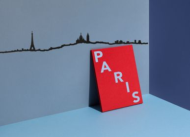 Wall decoration - City Silhouette - Paris - THE LINE