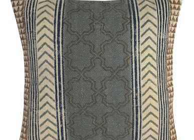Fabric cushions - Batik cotton Cushion Covers - WAX DESIGN - BARCELONA
