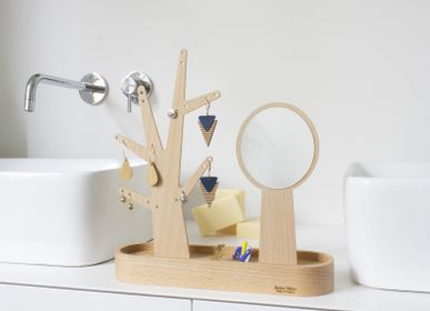 Design objects - Eden | jewelry tree and hand mirror 59 - REINE MÈRE