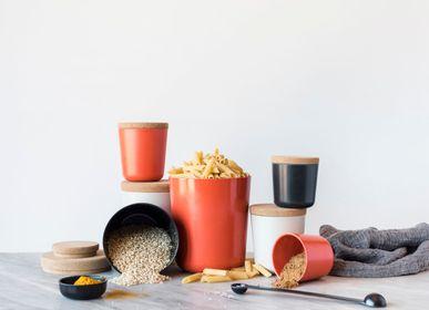 Food storage - Bamboo storage canister jars - EKOBO