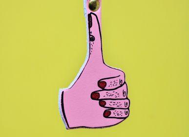 Petite maroquinerie - Porte-clés de signe de main - ARK COLOUR DESIGN