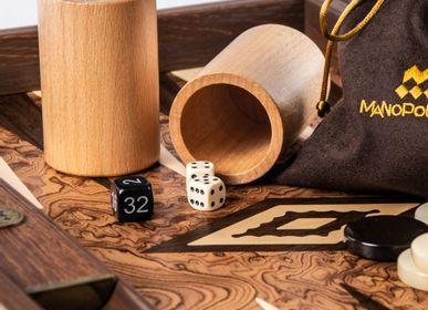 Jeux - Backgammon BURL DE NOYER - MANOPOULOS CHESS & BACKGAMMON
