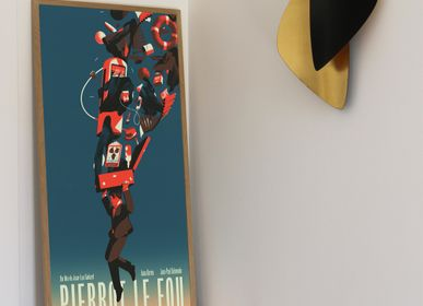 Wall decoration - POSTER PIERROT LE FOU - REGULAR - PLAKAT - DESIGNING MOVIE POSTERS -