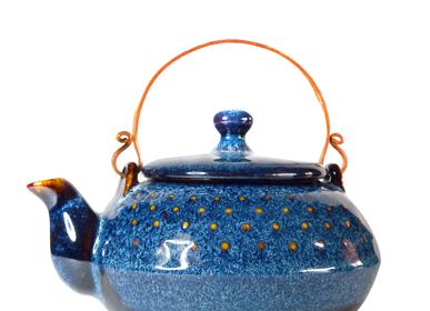 Ceramic - Ocean Blue Teapots - ZAOZAM