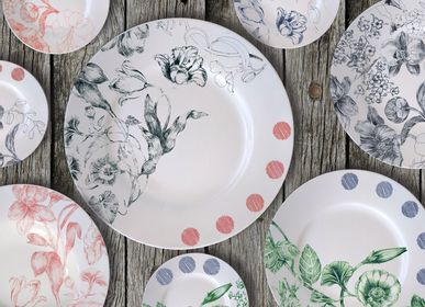 Ceramic - Marie Antoniette 2020 Plates Collection - FRANCESCA COLOMBO