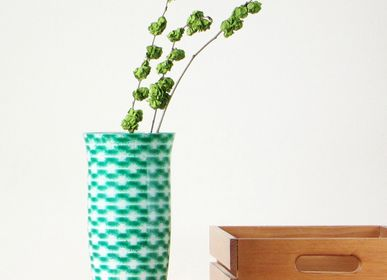 Bol - Garden Green Resonance Flower Vase Big - SYNCHROPAINT