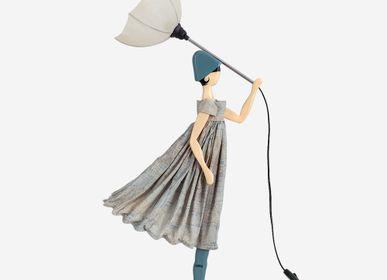 Sculpture - TITANIA | Little Girl table lamp - SKITSO
