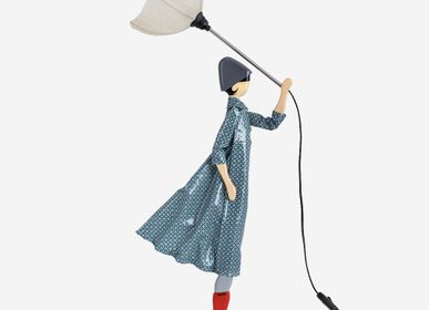 Sculpture - MARISTELLA | Little Girl table lamp - SKITSO
