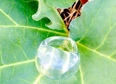 Bijoux - Bague transparente - SILICE CREATION