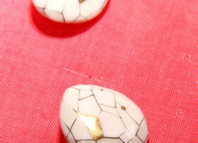 Jewelry - Mud Pearl Unbalance Jewelry Earring No.3 - MARU