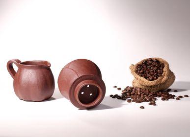 Tea / coffee accessories - Pottery Coffee Dripper Set - HAEDAM
