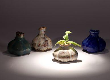 Vases - Ceramic Pumpkin Vase - HAEDAM