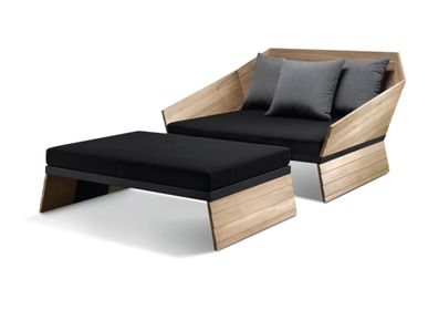 Sofas - SELF daybed (teak version) - KENKOON