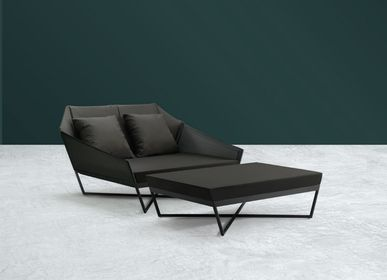 Sofas - SELF Day + Ottoman (Fabric Version) - KENKOON