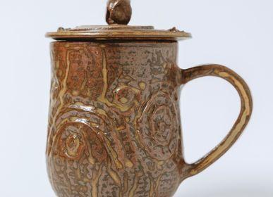 Mugs - Totem lid cup - TAITUNG ESSENCE - ADISI POTTERY
