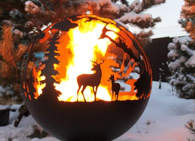 Outdoor fireplaces - Taiga / Fire pit orb - FIRECUP