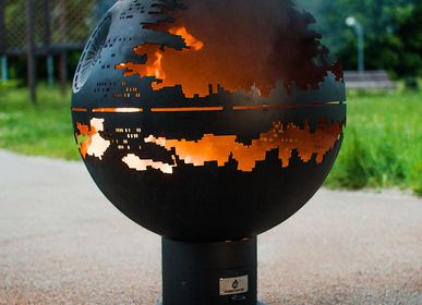 Outdoor fireplaces - Death Star / Fire pit orb - FIRECUP