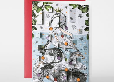 Stationery / Card shop / Writing - ADVENT CALENDAR CARDS - PABUKU