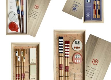 Gifts - Chopsticks  and rests box sets - HASHIFUKU