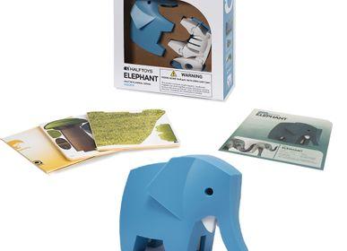 Jouets enfants - Puzzle 3D animaux, favorisant la créativité et l'apprentissage, Jouets très élégant - KIDYWOLF