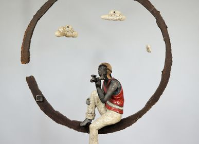 Sculpture - The Dream Catcher - BLANDINE ROSSA DESTOUCHES