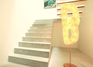 Design objects - Double Orbit (floor lamp) - ANGO