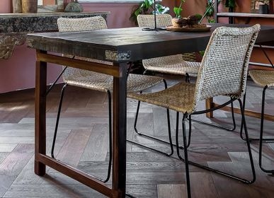 Furniture and storage - Dining table folding - RAW MATERIALS