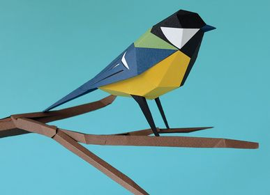 Design objects - Paper decoration - Parus Major - PLEGO